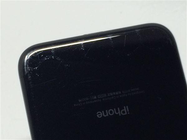 【中古】【安心保証】 docomo iPhone7[32G] ジェットブラック