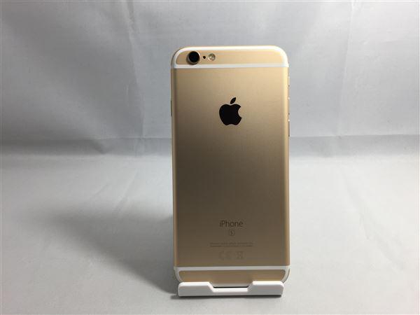 【中古】【安心保証】 docomo iPhone6s 32GB ゴールド