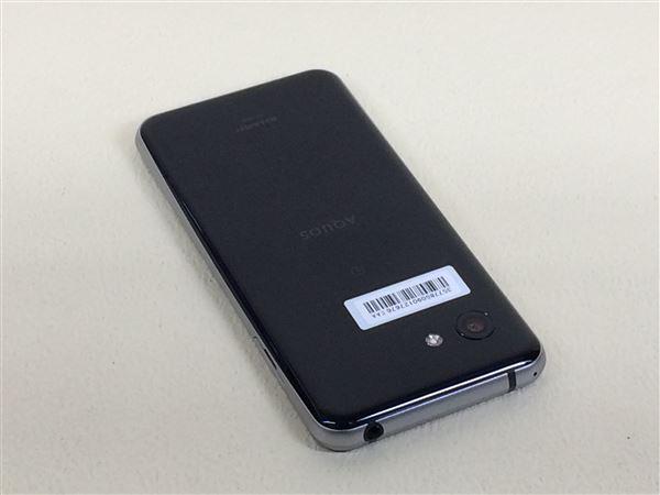 【中古】【安心保証】 SIMフリー SH-M09 ピュアブラック