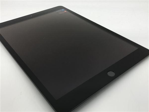 【中古】【安心保証】 SoftBank 10.2iPad 7[セルラー32G] グレイ
