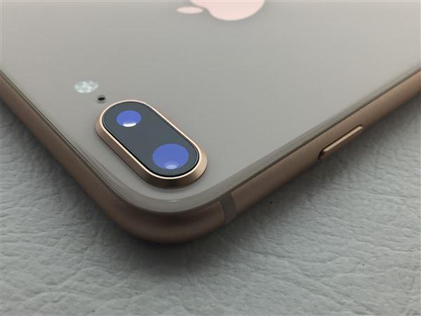 【中古】【安心保証】 SoftBank iPhone8Plus[64G] ゴールド SIMロック解除済