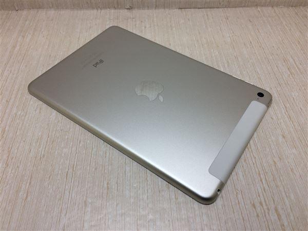 【中古】【安心保証】 au iPadmini4[セルラー128G] シルバー