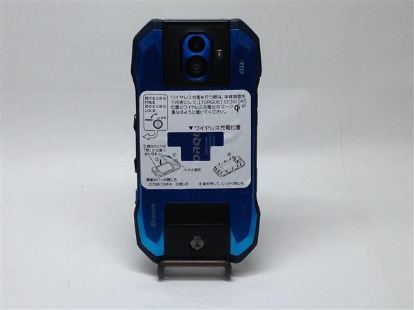 【中古】【安心保証】 au KYV46 ブルー