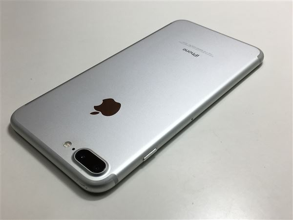 【中古】【安心保証】 SoftBank iPhone7Plus[32G] シルバー