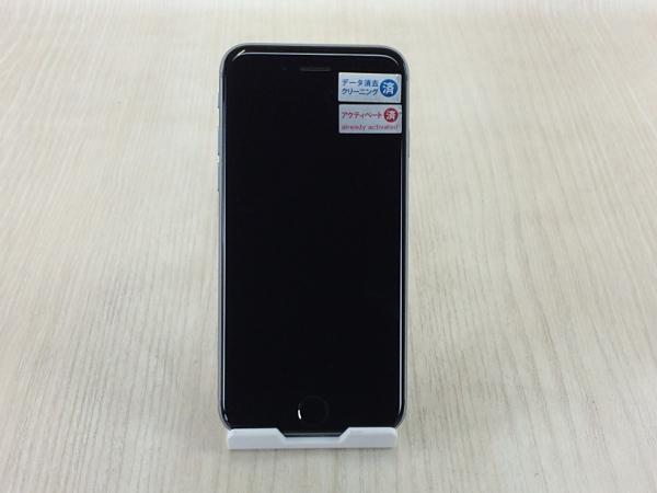 【中古】【安心保証】 docomo iPhone6s[64G] スペースグレイ