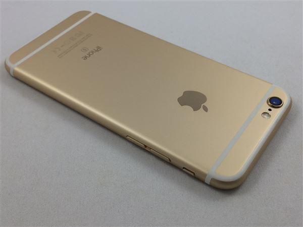 【中古】【安心保証】 SoftBank iPhone6s[16G] ゴールド SIMロック解除済