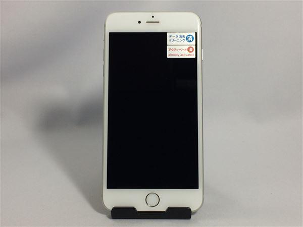 【中古】【安心保証】 au iPhone6sPlus[16G] シルバー SIMロック解除済