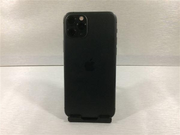 【中古】【安心保証】 docomo iPhone11 Pro[256G] スペースグレイ SIMロック解除済