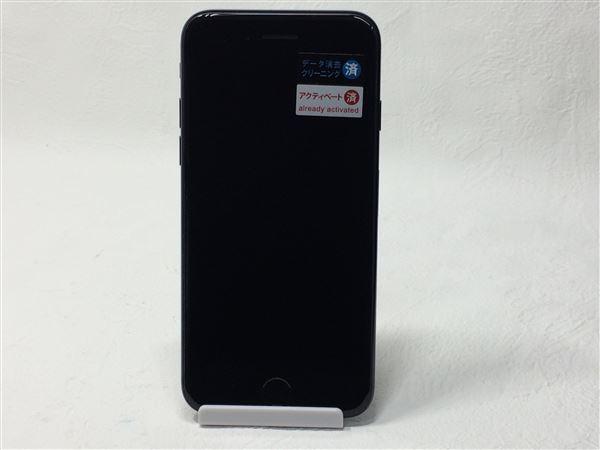 【中古】【安心保証】 SoftBank iPhone7[256G] ジェットブラック SIMロック解除済