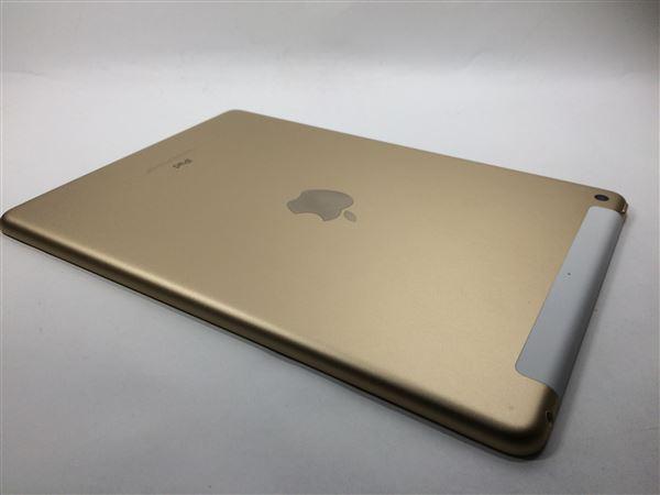 【中古】【安心保証】 au 9.7iPad 5[セルラー32G] ゴールド