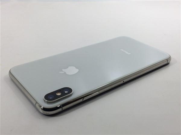 【中古】【安心保証】 SIMフリー iPhoneXSMax[256G] シルバー