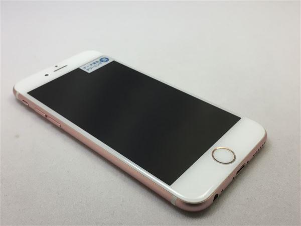 【中古】【安心保証】 SoftBank iPhone6s[16G] ローズゴールド SIMロック解除済