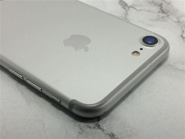 【中古】【安心保証】 docomo iPhone7[32G] シルバー SIMロック解除済