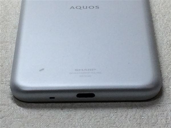 【中古】【安心保証】 UQモバイル SHV40 シルキーホワイト