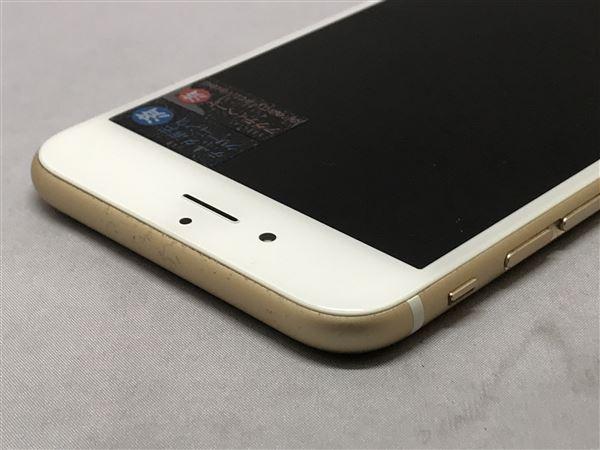 【中古】【安心保証】 au iPhone6s[128G] ゴールド