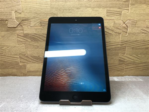 【中古】【安心保証】 au iPadmini1[セルラー64G] ブラック