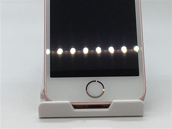 【中古】【安心保証】 docomo iPhoneSE[32G] ローズゴールド