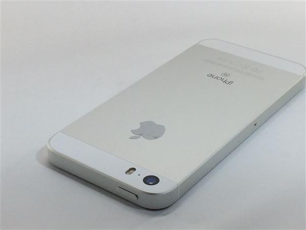 【中古】【安心保証】 SoftBank iPhoneSE[32G] シルバー SIMロック解除済