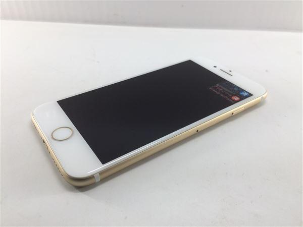 【中古】【安心保証】 au iPhone7[128G] ゴールド SIMロック解除済