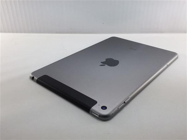 【中古】【安心保証】 SoftBank iPadmini4[セルラー128G] グレイ