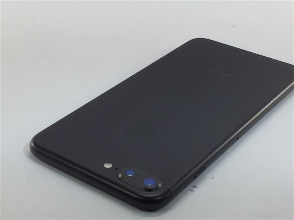 【中古】【安心保証】 au iPhone7Plus[128G] ブラック