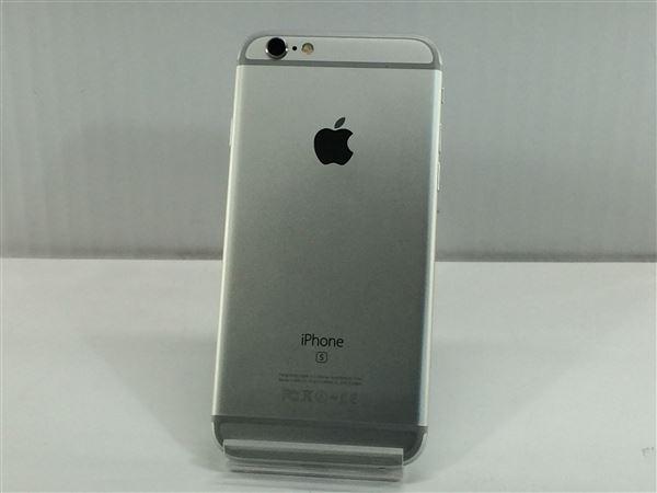 【中古】【安心保証】 SoftBank iPhone6s[32G] シルバー SIMロック解除済