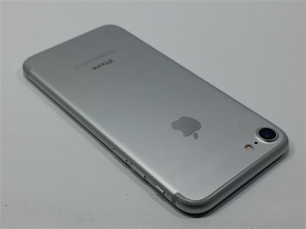 【中古】【安心保証】 SoftBank iPhone7[128G] シルバー