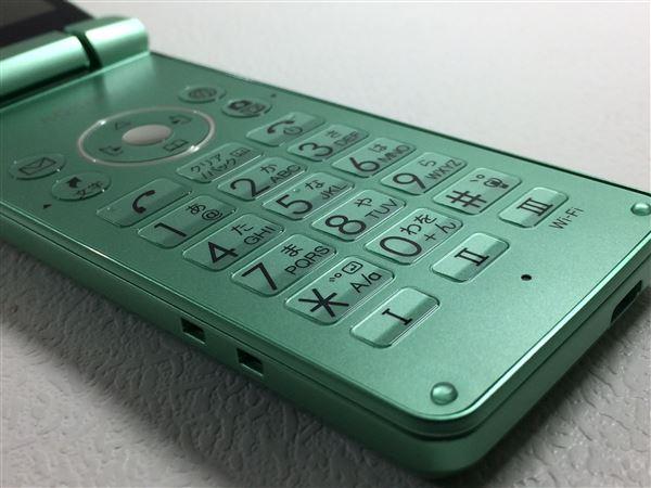 【中古】【安心保証】 Y!mobile 806SH グリーン