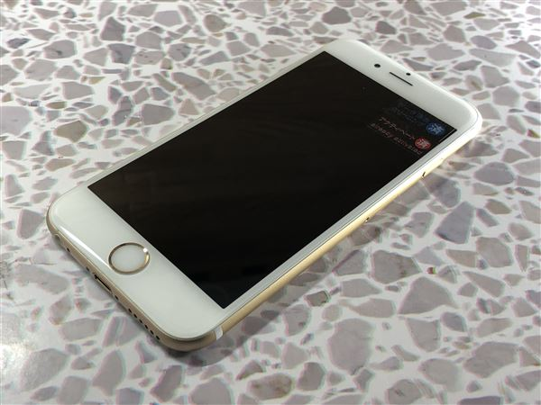 【中古】【安心保証】 docomo iPhone6s[64G] ゴールド