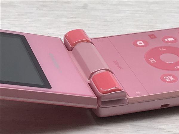 【中古】【安心保証】 docomo SH-03E ピンク