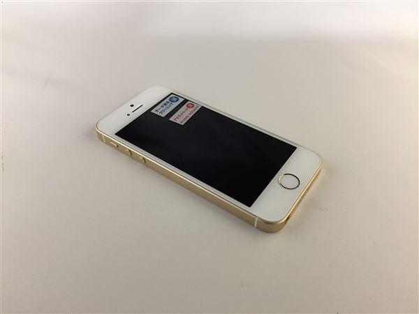 【中古】【安心保証】 SoftBank iPhoneSE[32G] ゴールド