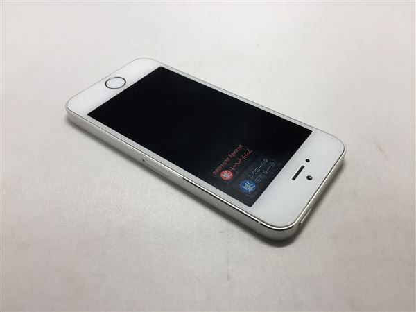 【中古】【安心保証】 SoftBank iPhone5s[32G] シルバー