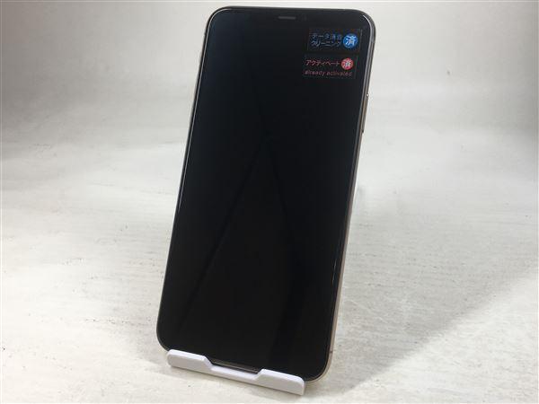 【中古】【安心保証】 SIMフリー iPhone11 Pro Max[512G] ゴールド