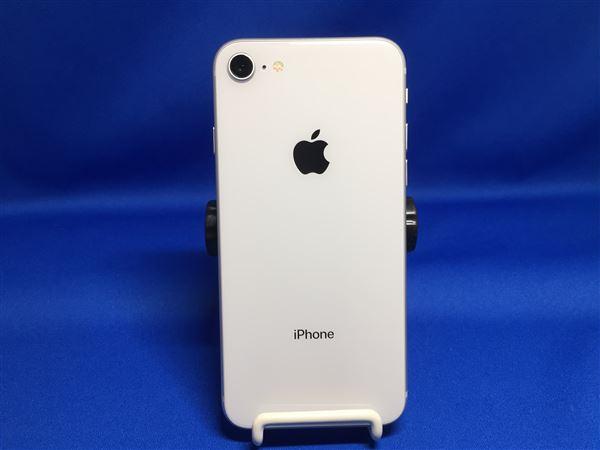 【中古】【安心保証】 docomo iPhone8[64G] シルバー