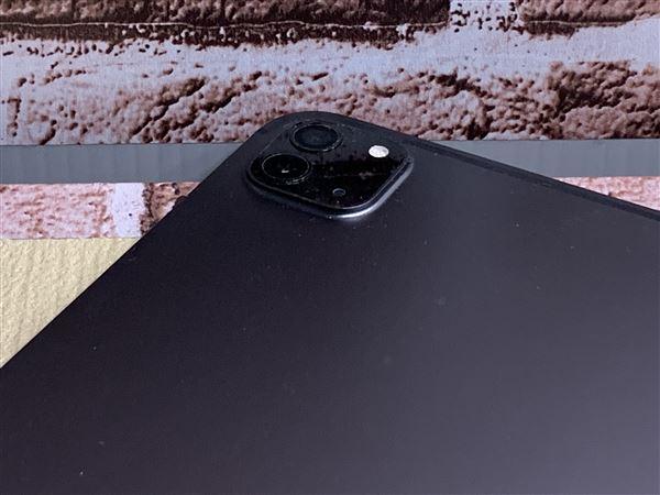 【中古】【安心保証】 docomo iPadPro-12.9_4[セルラー128G] スペースグレイ