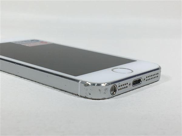 【中古】【安心保証】 SoftBank iPhone5s[64G] シルバー