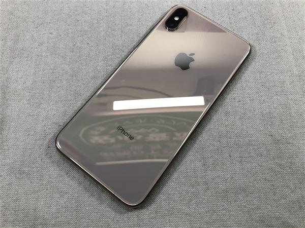 【中古】【安心保証】 SIMフリー iPhoneXSMax[256G] ゴールド