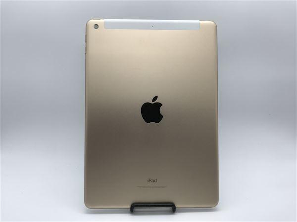 【中古】【安心保証】 SoftBank 9.7iPad 5[セルラー32G] ゴールド