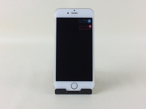 【中古】【安心保証】 au iPhone6[64G] ゴールド