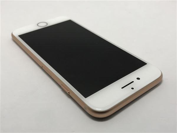 【中古】【安心保証】 SIMフリー iPhone8[64G] ゴールド