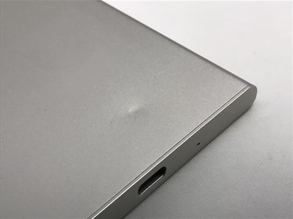 【中古】【安心保証】 SoftBank 701SO ウォームシルバー