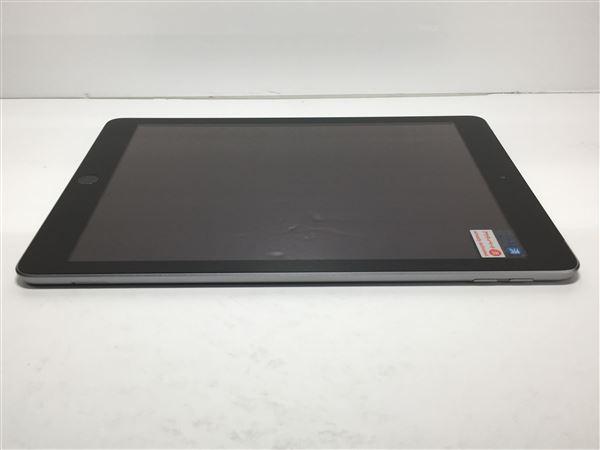 【中古】【安心保証】 au 9.7iPad 5[セルラー32G] スペースグレイ