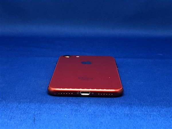 【中古】【安心保証】 SoftBank iPhone8[64G] レッド