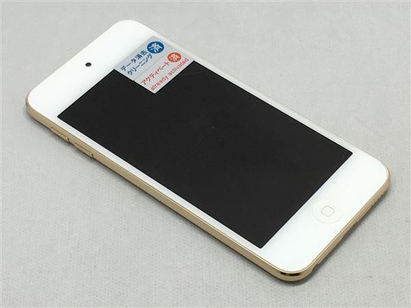 【中古】【安心保証】 iPodtouch6[64GB](ゴールド)MKHC2J