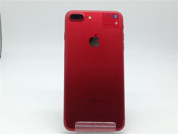 【中古】【安心保証】 SIMフリー iPhone7Plus[256G] レッド