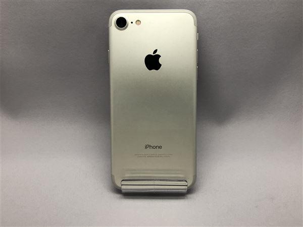 【中古】【安心保証】 SoftBank iPhone7[32G] シルバー SIMロック解除済