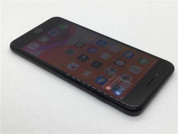 【中古】【安心保証】 au iPhone7Plus[128G] ジェットブラック