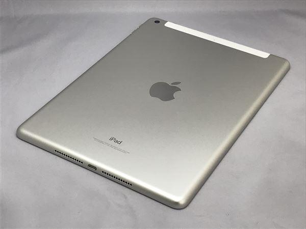 【中古】【安心保証】 au 9.7iPad 6[セルラー32G] シルバー