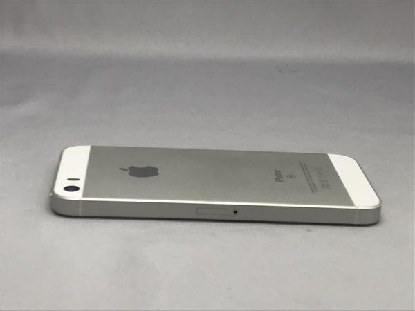 【中古】【安心保証】 docomo iPhoneSE[64G] シルバー SIMロック解除済