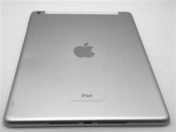 【中古】【安心保証】 SoftBank 9.7iPad 5[セルラー128G] シルバー